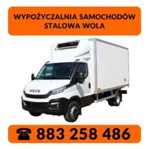 Wypożyczalnia Samochodów Stalowa Wola - Iveco Daily chłodnia
